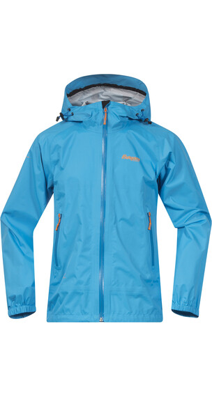 Bergans Tinn Youth Jkt Bright Sea Blue